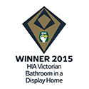 Winner 2015 HIA Victorian Bathroom in a Display Homes