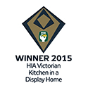 Winner 2015 HIA Victorian Kitcen in a Display Homes